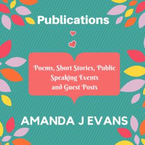 Amanda J Evans Publications