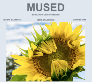 Mused BellaOnline Literary Review Summer 2016