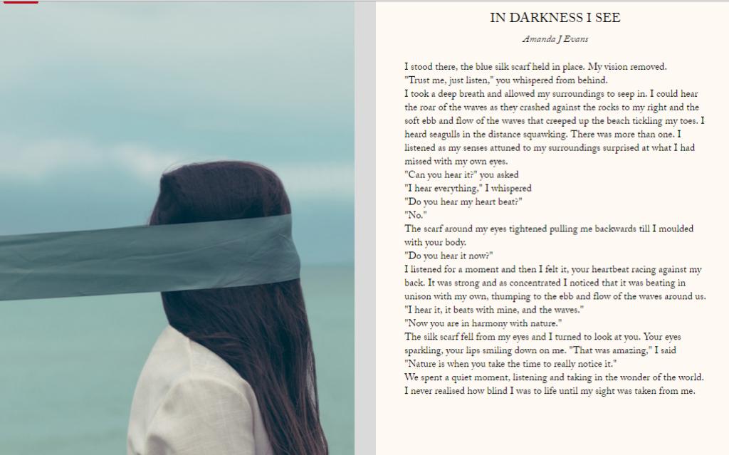In Darkness I See - Amanda J Evans