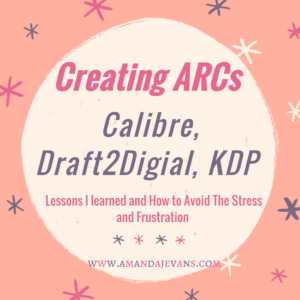 Creating ARCs for Your eBook