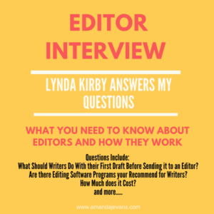 Editor Interview – Lynda Kirby Answers My Questions