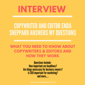 Interview with Enda Sheppard